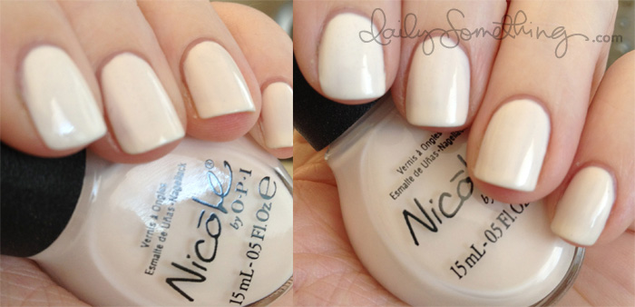 Nicole by OPI Other&#8217;s Pale By Kim-Parison