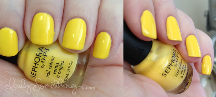 Sephora by OPI Betsey Johnson Yellow My Name is Betsey