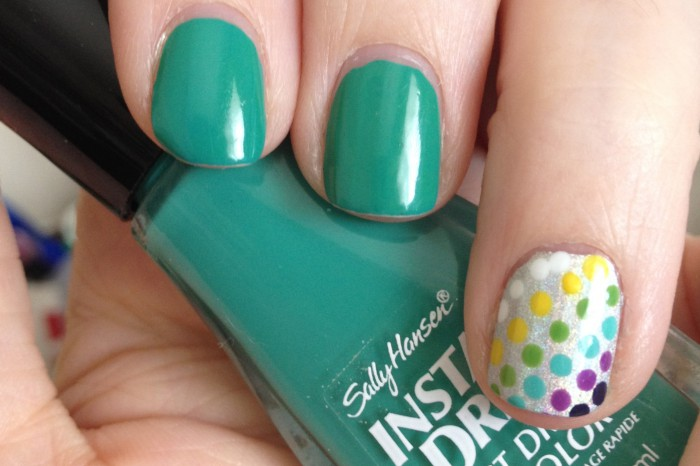 Mint with Polka Dots