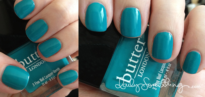 Butter London Slapper + Butter London Basecoat and Topcoat