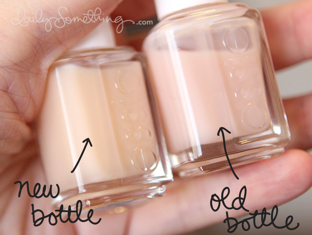 Essie French Manicure Colors + Color Discrepancy - Daily ...