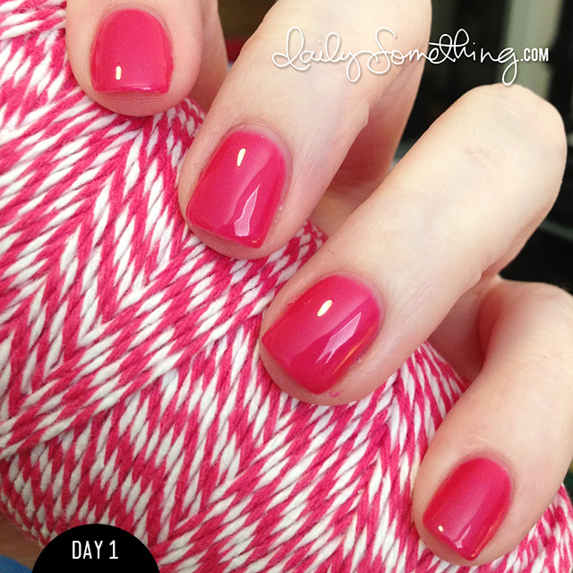 Sally Hansen Salon Gel Polish Test - Daily Something