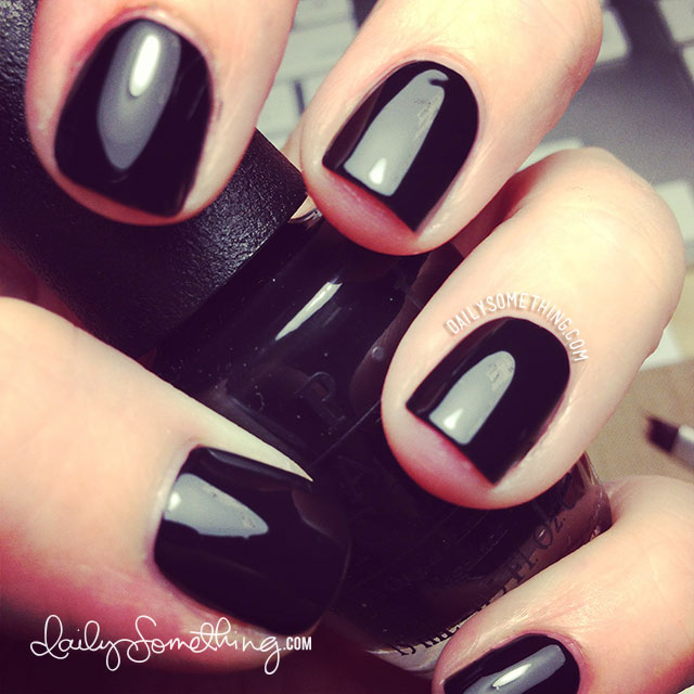 OPI Black Onyx, Free Shipping at Nail Polish Canada