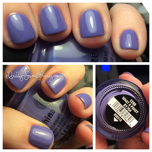 China Glaze Archives - Daily SomethingDaily Something