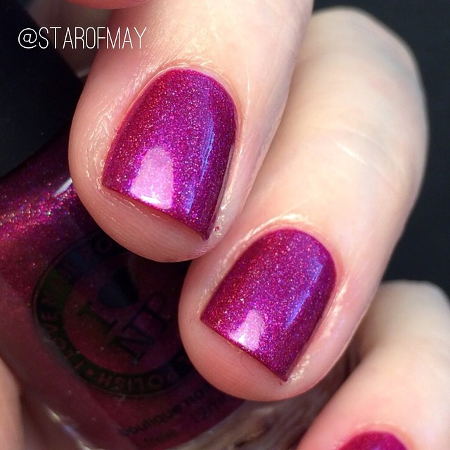 ILNP Bikini Bottoms (up close) #starofmaynails