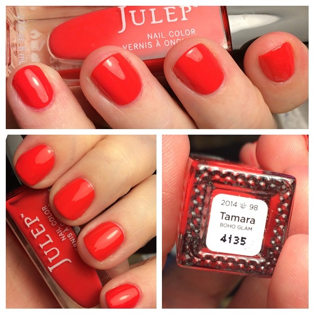 Polish change! Tamara from Julep. :) #notd