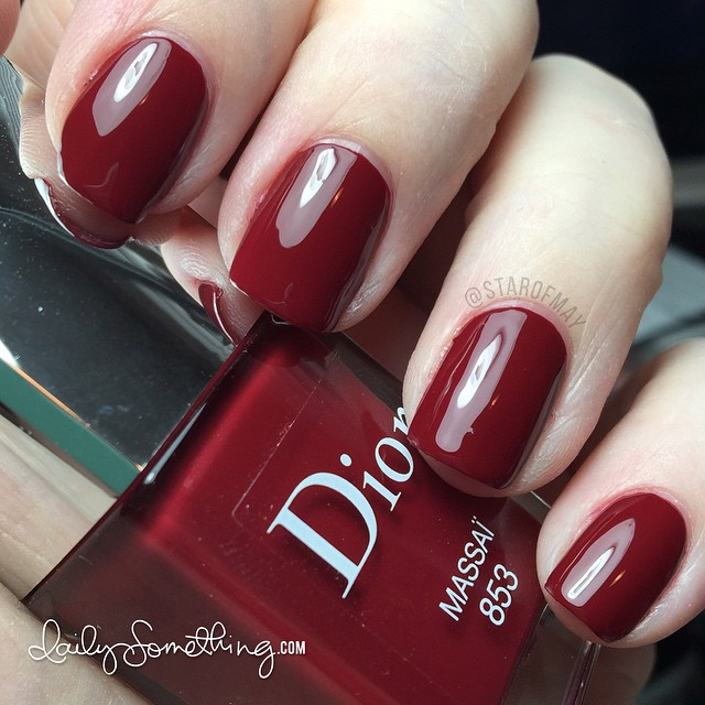 Dior Massaï (brick red) #starofmaynails