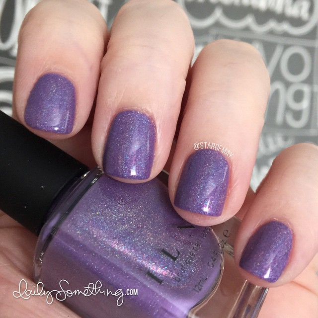 ILNP Charmingly Purple #starofmaynails