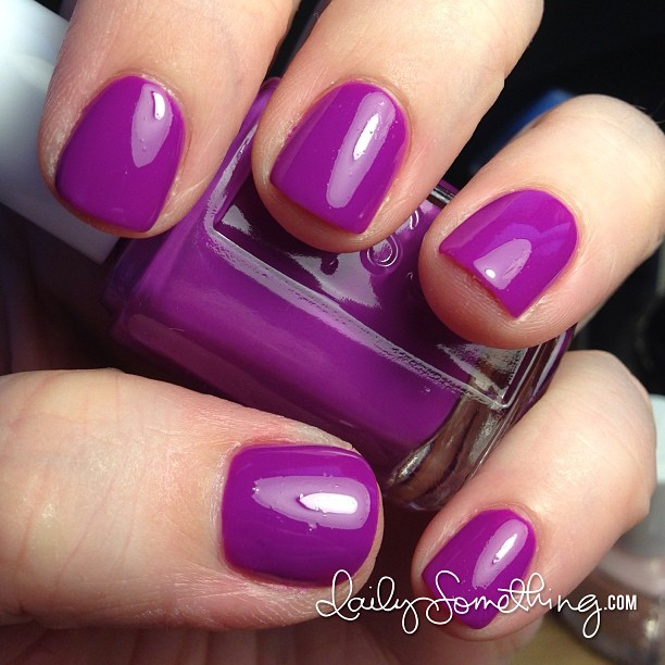 New polish this afternoon: DJ Play That Song by Essie.