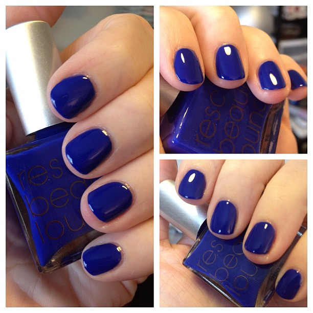 Yay! My @rescuebeauty order came! IKB 2012 is *the* most gorgeous blue! Love!