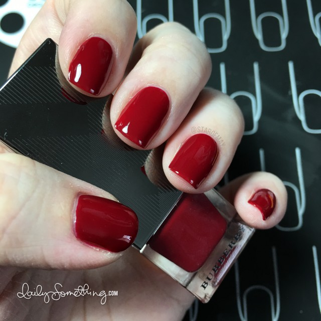 Burberry Lacquer Red